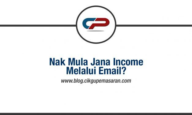5 Fasa Penting Untuk Jana Sales Melalui Email Marketing